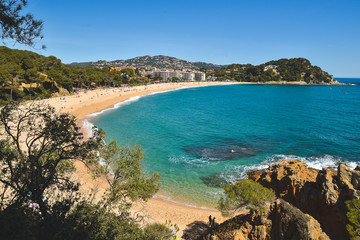 Exotic coastline in Spain, Costa Brava