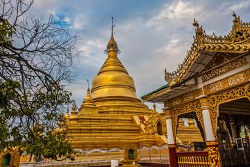 The Kuthodaw Pagoda, Mandalay, Myanmar