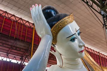 Reclining Buddha of Chauk Htat Kyi Pagoda, Yangon, Myanmar