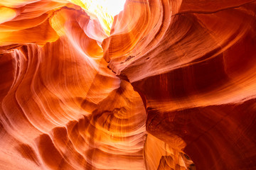 Deurstickers Canyon Upper Antelope Canyon