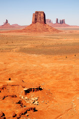 Wall Mural - Monument Valley north east Arizona Navajo Nation