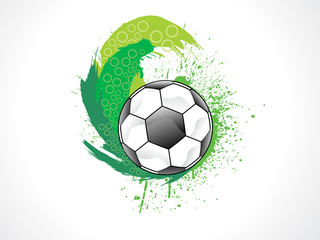 abstract artistic creative football explode