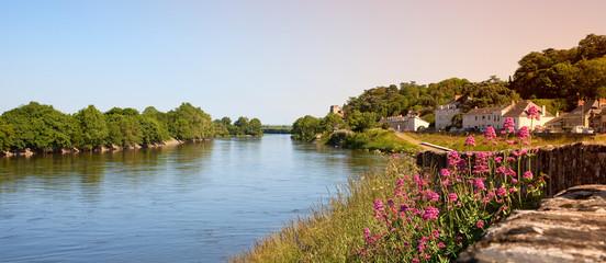 Türaufkleber Fluss Bord de Loire en Anjou > Montjean sur Loire