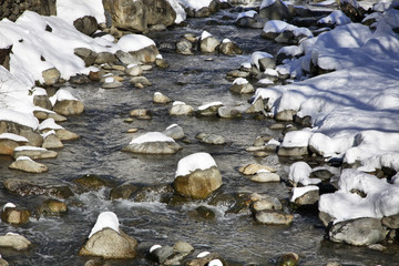 Stream near Encamp. Andorra