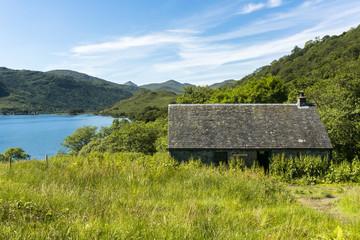 Schutzhütte am West Highland Way
