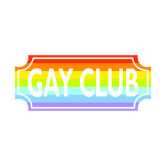 Gay club label
