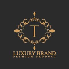 logo luxury T