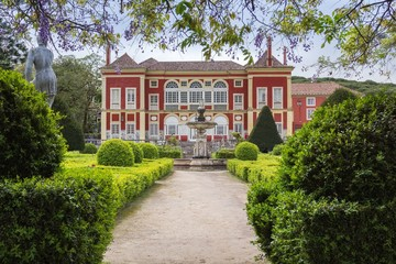 Palacio dos Marqueses de Fronteira, Lisbon, Portugal