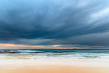Cloudy Morning Seascape