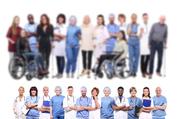 Group of healthcare people