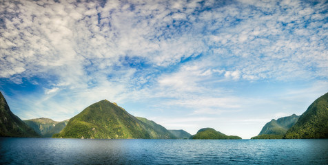 Doubtful Sound Panorama