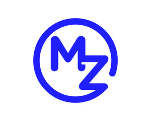 blue circle typography alphabet typeset typeface logotype font image vector icon