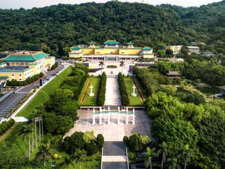 Gu Gong National Palace Museum in Taipei, Taiwan