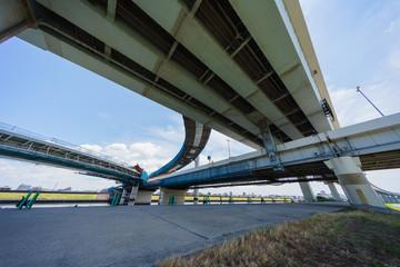 小松川ジャンクション建設中