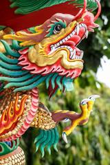 タイ バンコク:ドラゴン タイ中国寺 Thai-Chinese Temple Lao Bun Thao Gong Shrine ศาลเจ้าเล่าปูนเถ้ากง