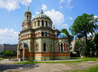 Orthodox Alexander Nevsky Cathedral-in Lodz