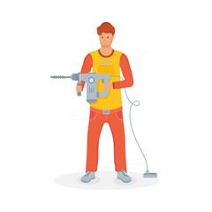 Vector Illustration of Builder.