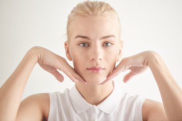 Gymnastics for the face. Exercises to improve skin