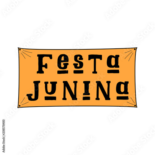 Festa junina june festival in portuguese language illustration on festa junina june festival in portuguese language illustration on white background brazil june m4hsunfo