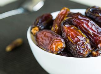 Raw organic dates fruit