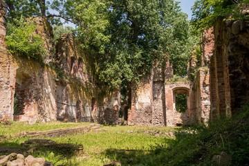 Schloss Putzar - Ulrichsbau - Ruine - Innenansicht