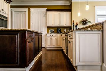 Modern Traditional Warm Kitchen
