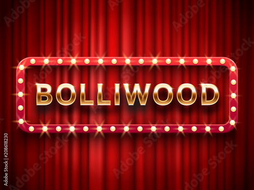 Bollywood Cinema Vintage Indian Movie Cinematography And