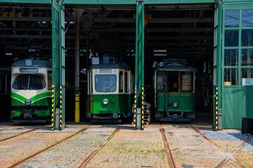 Straßenbahn Remise