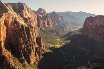 Landscape of the Zion National park, Utah, USA Fototapete