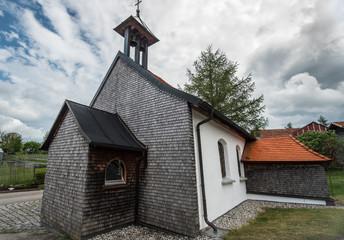 Kleine Dorfkapelle im Allgäu