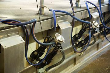 Mechanized milking equipment