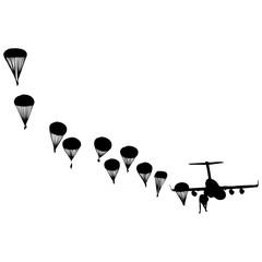 lanzamiento paracaidista