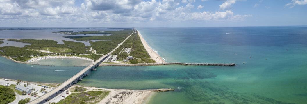 Sebastian Inlet in Brevard and Indian River Counties, Florida