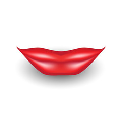 3d Vector Lips Icon