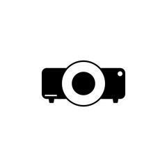projector icon. Element of cinema icon. Premium quality graphic design icon. Signs and symbols collection icon for websites, web design, mobile app