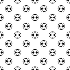 Football icon. Simple illustration of football vector icon for web
