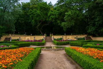Cerco garden in Mafra in Portugal