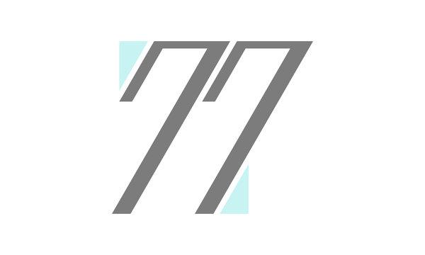 77 logo