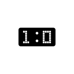 football scoreboard icon. Element of soccer icon for mobile concept and web apps. Detailed football scoreboard icon can be used for web and mobile. Premium icon