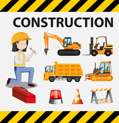 A Set of Construction Engineer