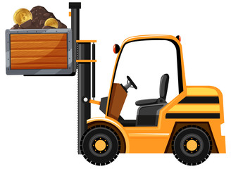 Mining Tractor and Bitcoin