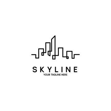 Skyline Logo Design Template