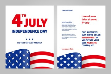 Happy independence day 4 th july, United states of america day. USA