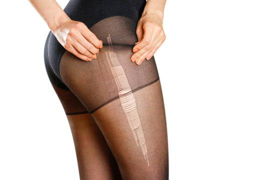 Pantyhose teen girl Horror bondage