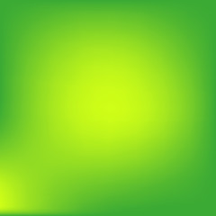 Green abstract background.Blur gradient