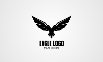 Abstract Eagle Vector Logo