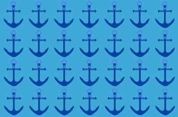 Fondo de anclas azules.