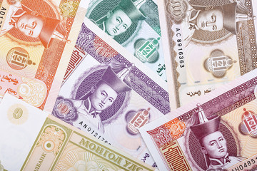 Money from Mongolia, a background
