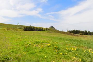 Landscape French Auvergne Massif du Sancy