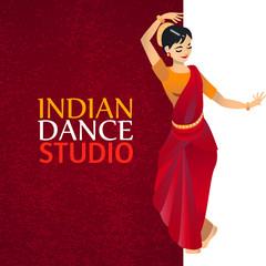 Indian Dance Studio Template